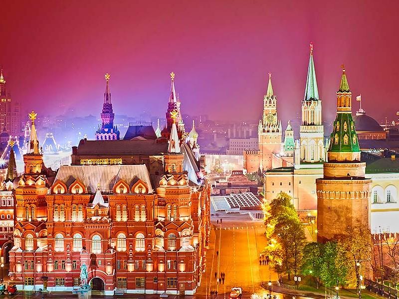 莫斯科克里姆林宫红场历史博物馆