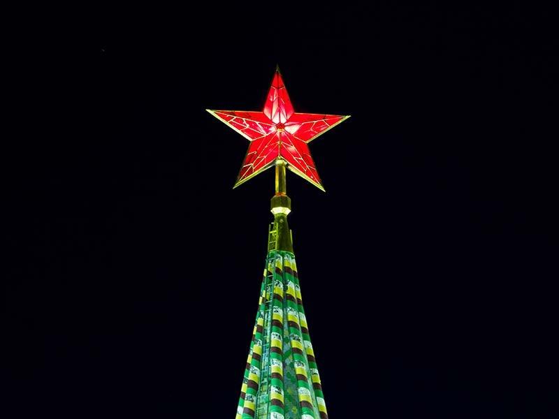 莫斯科克里姆林宫的红星