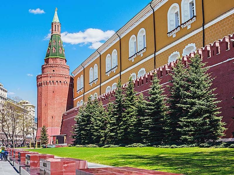 亚历山大花园莫斯科克里姆林宫