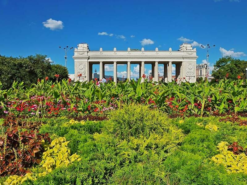 高尔基公园莫斯科