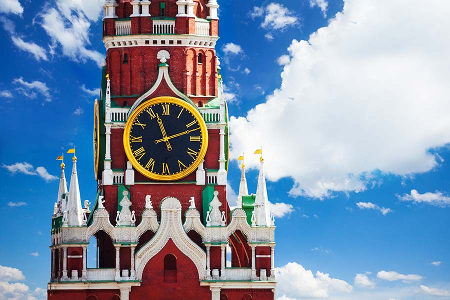 克里姆林宫编钟红场莫斯科