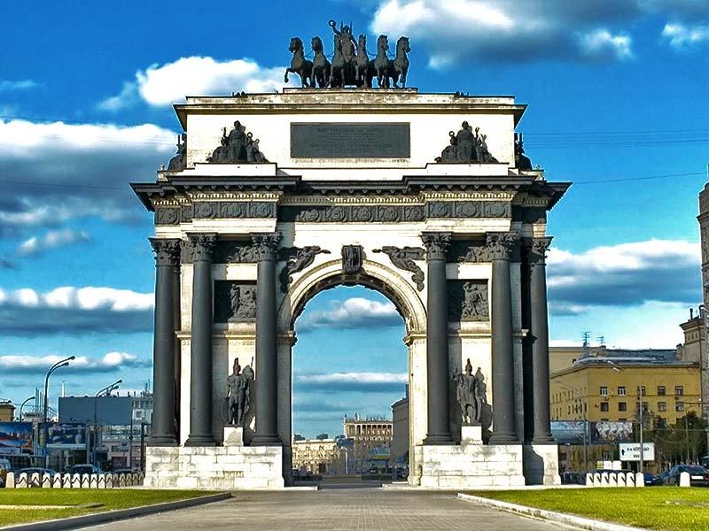 凯旋门在莫斯科