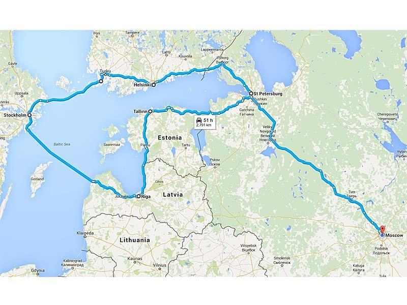 RUSSIA – ESTONIA – LATVIA – SWEDEN - FINLAND MOSCOW – SAINT PETERSBURG – TALLINN – RIGA – STOCKHOLM – HELSINKI – SAINT PETERSBURG – MOSCOW